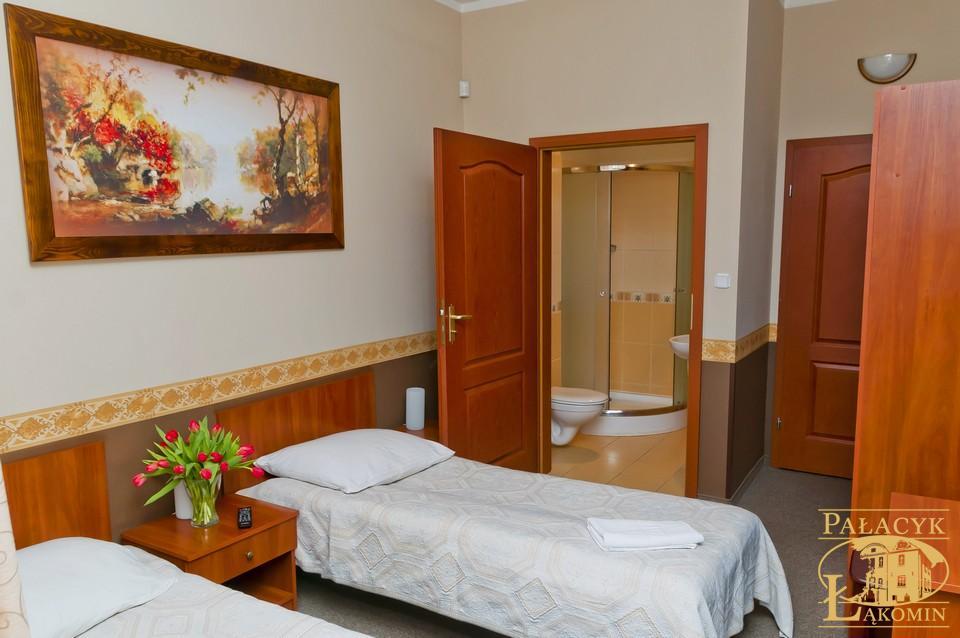 Pałacyk Myśliwski - pokój dwuosobowy, z łazienką